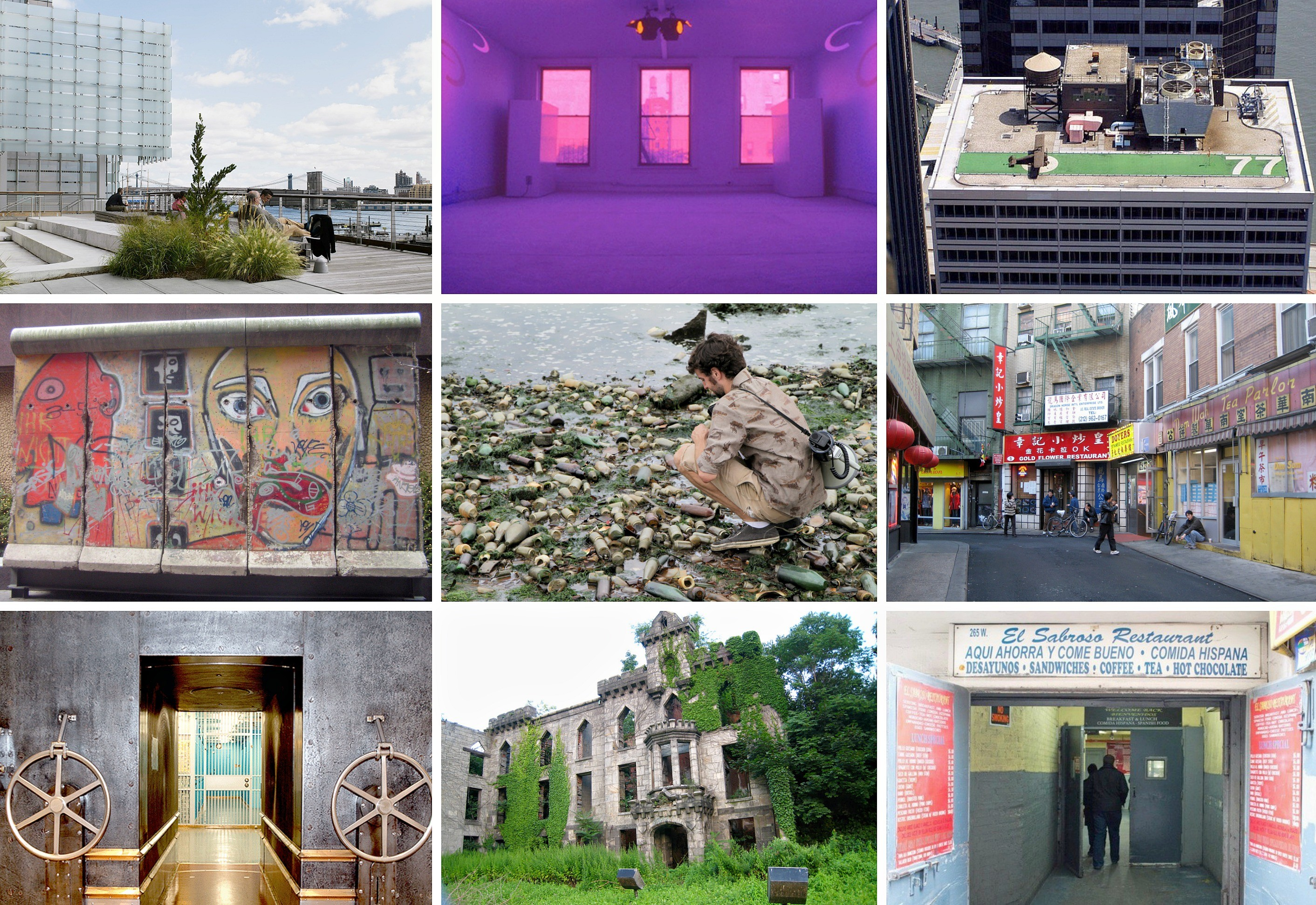 Hidden attractions in NYC.