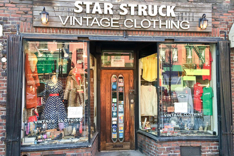 Vintage clothes.