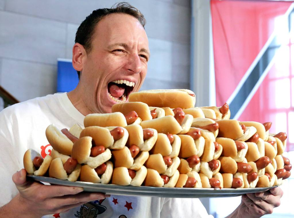 A lot of hot dogs.