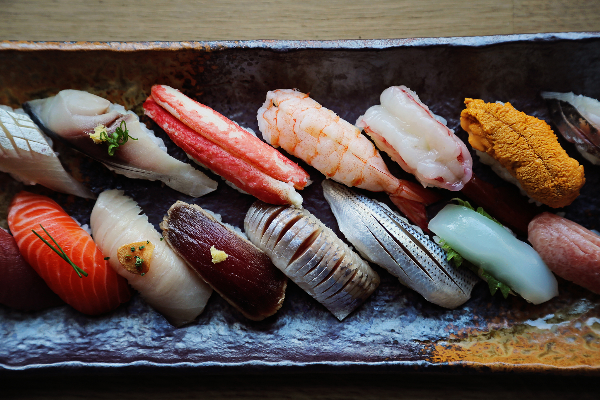 Top sushi in NYC.