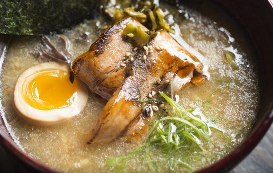 Ramen, healthy and delicious.